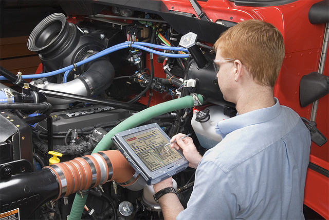 Detailing engine compartment can facilitate diagnosing electrical engine failures.