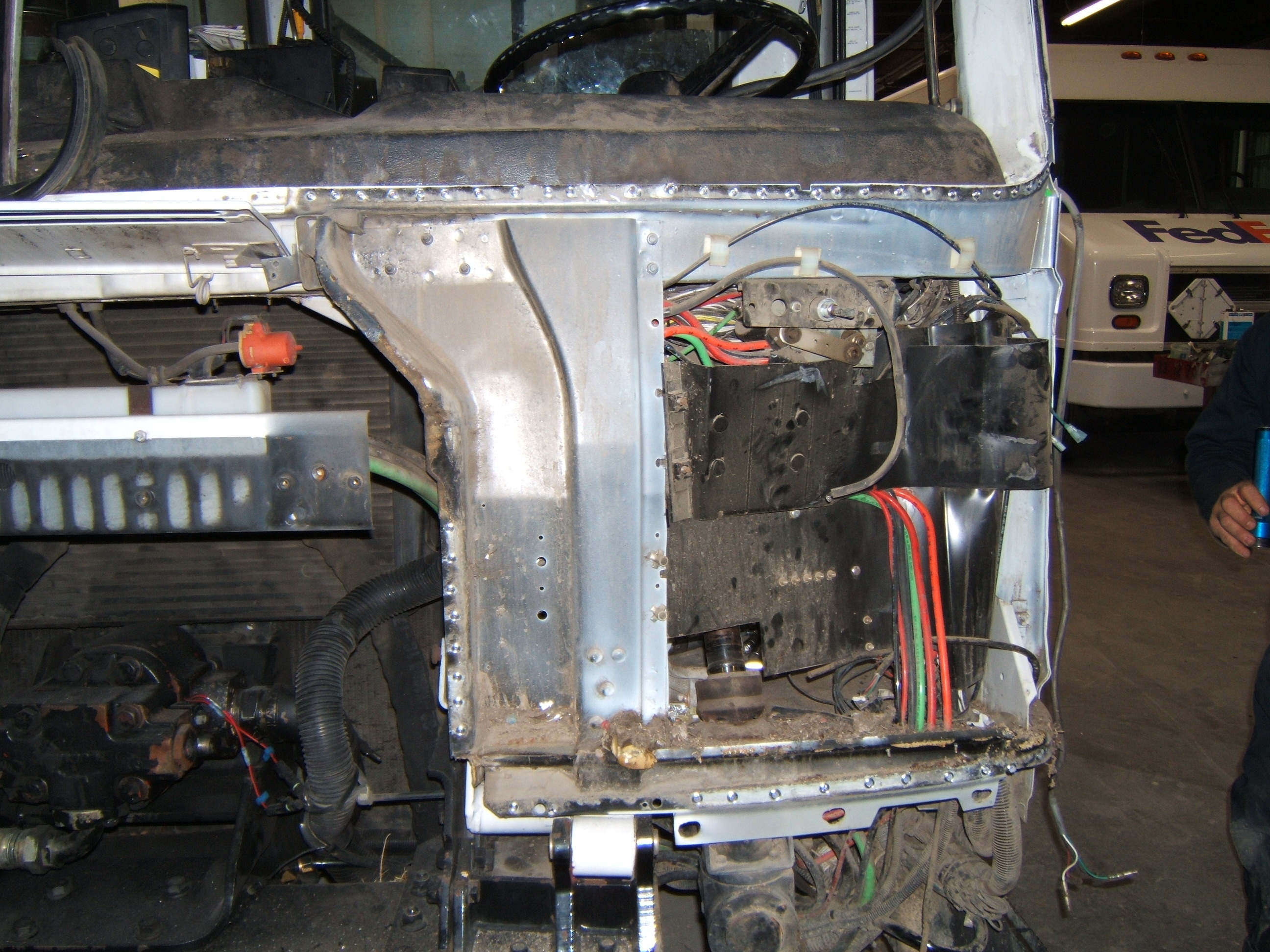 truck-repair-tear-down - We perform systems check to verify electrical components pass all tests.